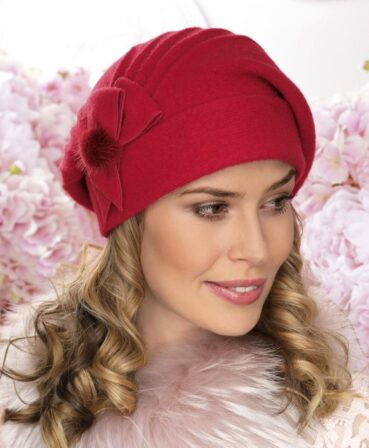 Caciula de dama stil bereta Bossana