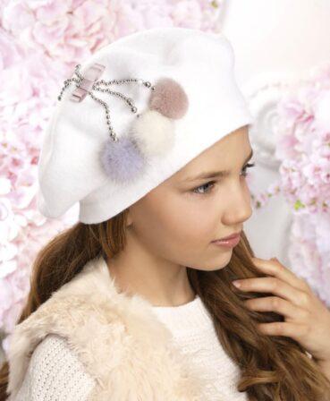 Caciula pentru fetite stil bereta Klev