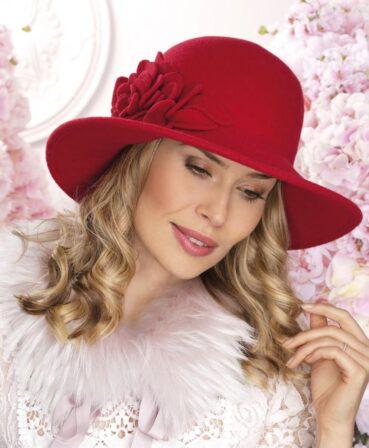 Palarie eleganta de dama Sonya - un produs premium care impresioneaza prin design sofisticat, calitate exceptionala, finisaje impecabile si accesorizare chic