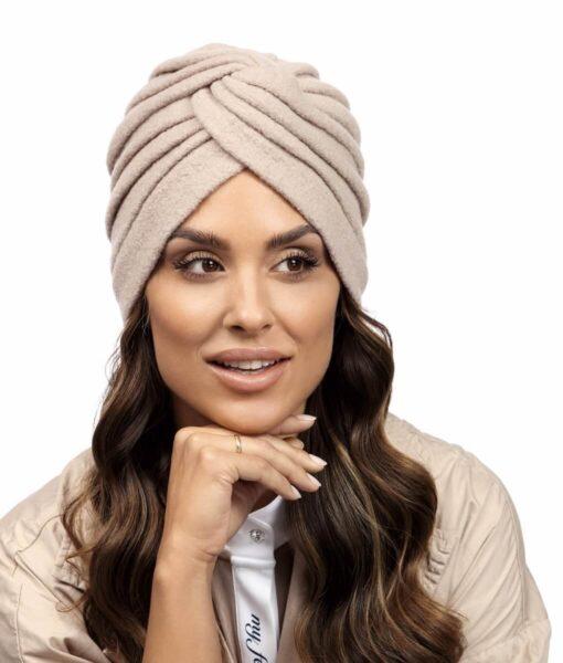 Caciula de dama stil turban Midi
