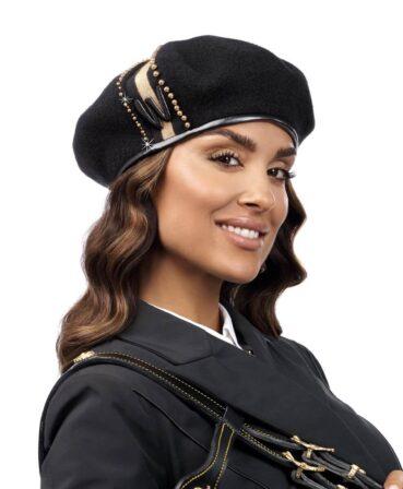 Caciula de dama tip bereta Carina