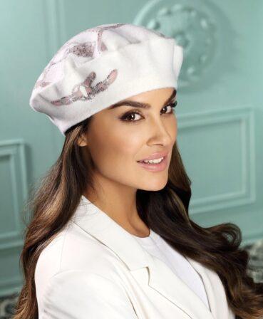 Caciula de dama tip bereta eleganta Rivana